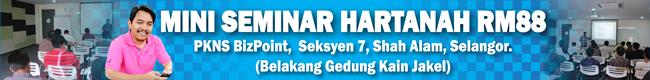 Official Ads Seminar Hartanah RM88.00 - AbangEnsem.Com