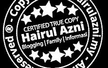 """Grafik: Rekaan """"Tetanda Air"""" – HairulAzni.My"""