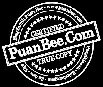 """Rekaan """"watermark"""" untuk PuanBee.Com"""